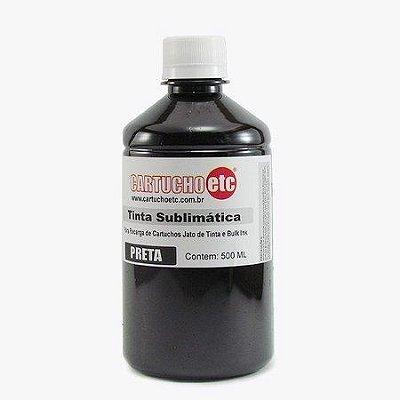 Tinta Sublimatica Inktec | Mizink UV Preta Epson para Transfer e Sublimação 1 Litro