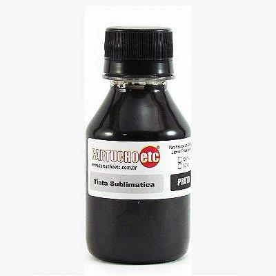 Tinta Sublimatica Inktec Preta Black Epson Sublimação 100ml