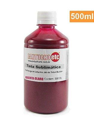 Tinta Sublimatica Inktec Magenta Claro Epson Sublimação 500ml