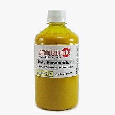 Tinta Sublimatica Inktec | Mizink UV Amarela Epson para Transfer e Sublimação 1 Litro