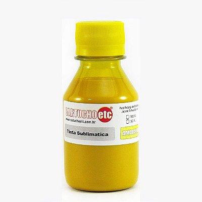 Tinta Sublimatica Inktec Amarela Epson Sublimação 100ml