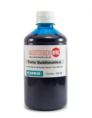Tinta Sublimatica Inktec Mizink Ciano Epson Transfer Sublimação 1 Litro