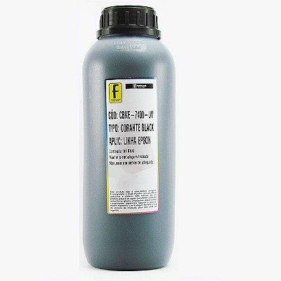 Tinta para Epson L110 L200 L355 L800 Preta Corante UV Importada 1 Litro