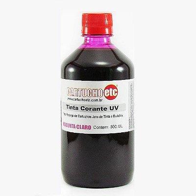 Tinta para Epson L800 Magenta Claro Corante UV Importada 500ml | Light