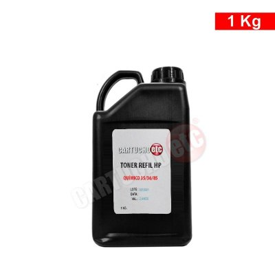 Refil de Toner Laser Hp Quimico CE285A CF283A CE278A 1 KG