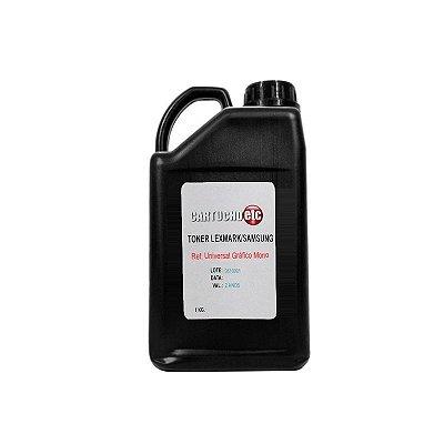 Refil de Toner Laser Samsung Premium ML1610 ML-1610 ML2010 ML-2010 1KG