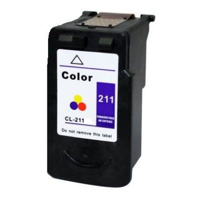 Cartucho Canon CL211 Colorido Compativel 20ml MP260 IP3600 CL 211