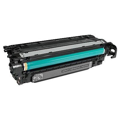 Toner Hp 504A CE250A Preto Compativel CM3530 CP3525DN Importado
