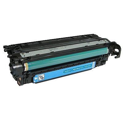 Toner Compatível HP 504A CE251A Ciano CM3530 CP3525DN