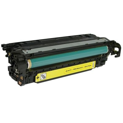 Toner Compatível HP 504A CE252A Amarelo CM3530 CP3525DN