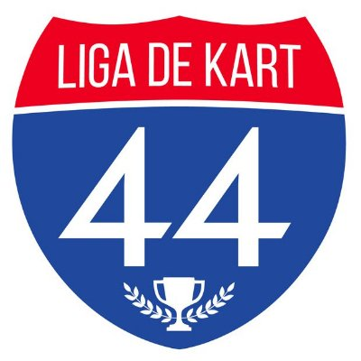 Adesivo - Oficial - Liga de Kart 44 - Grátis