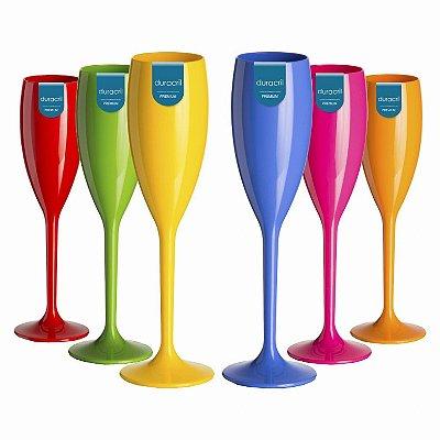 12 Taças Champagne 160 ml Verão
