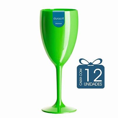 12 Taças Lolla 300 ml Verde
