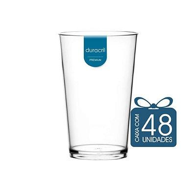 48 Copos Caldereta 350 ml Transparente
