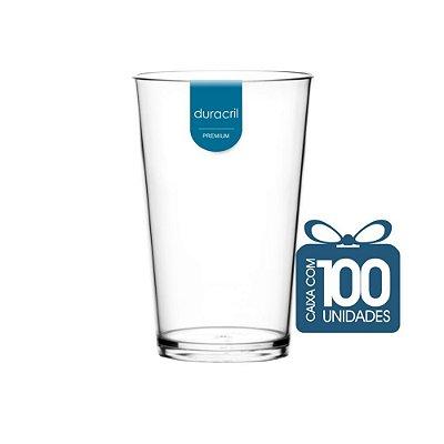 100 Copos Caldereta 350 ml Transparente