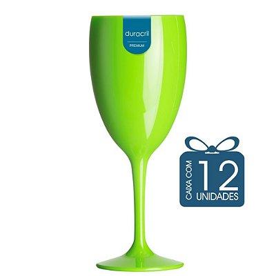 12 Taças Victória 400 ml Verde