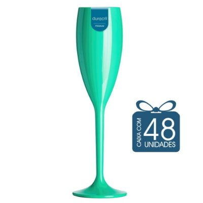 48 Taças Champagne 160 ml Tiffany