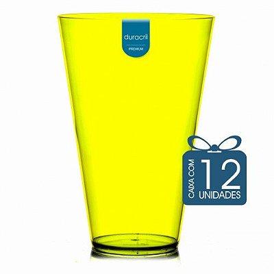 12 Copão Monster 2 litros Amarelo Neon