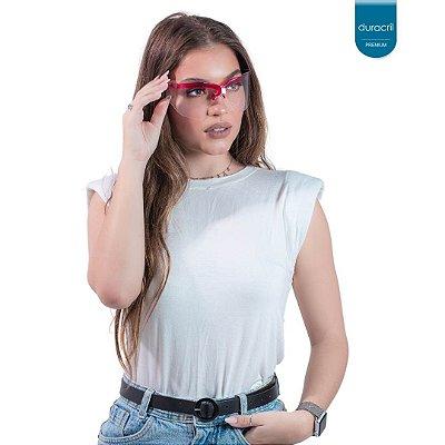 Óculos de Proteção Vermelho
