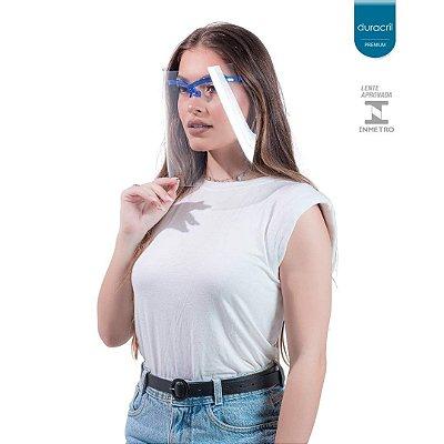 Máscara de Proteção Facial Azul