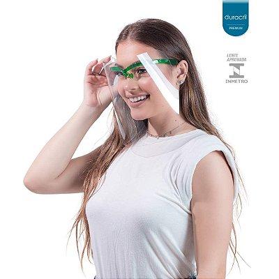 Máscara de Proteção Facial Verde