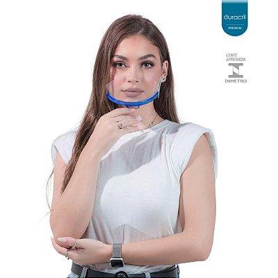 Máscara Semi Facial Azul