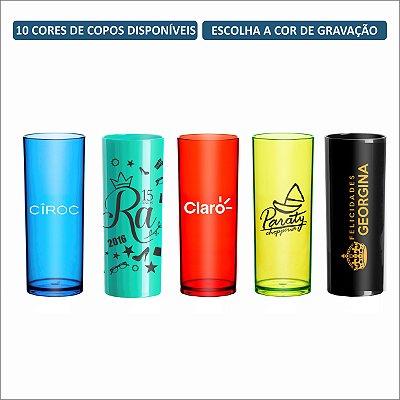 Kit Copos Long Drink 330ml Personalizados