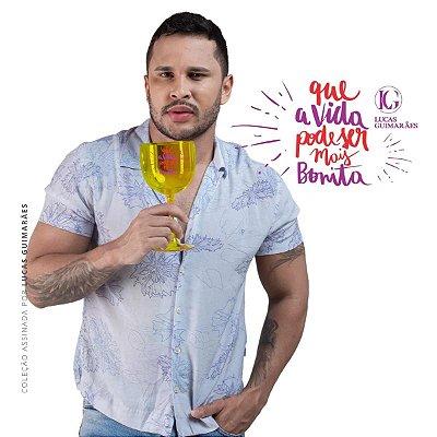 Taça de Gin LUCAS GUIMARÃES Amarelo Translúcido