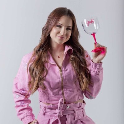 Taça de Gin Bicolor GABI MARTINS Rosa