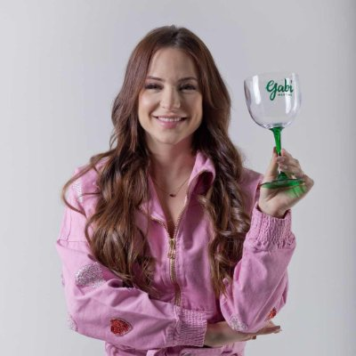 Taça de Gin Bicolor GABI MARTINS Verde