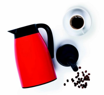Tupperware® Garrafa Térmica Easy Tupper 1 L Vermelha