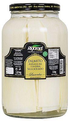 Palmito de Pupunha Lasanha Rigomel - 1,8kg
