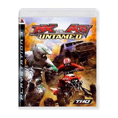 Jogo MX vs ATV Untamed - PS3 Seminovo