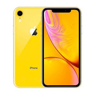 Smartphone Apple iPhone XR 64GB 3GB Amarelo Seminovo