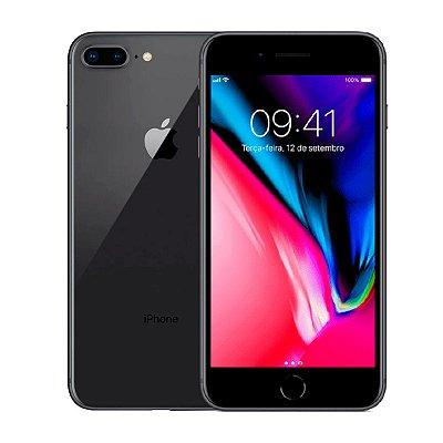 Smartphone Apple iPhone 8 Plus 64GB 3GB Preto Seminovo