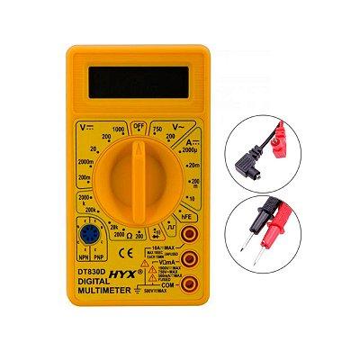 Mini Multímetro Universal DT-830B