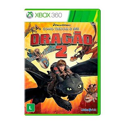 Jogo Como Treinar o Seu Dragão 2 - Xbox 360 Seminovo