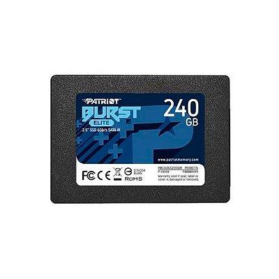 "HD Interno SSD 240GB Patriot Burst Elite 2.5"""