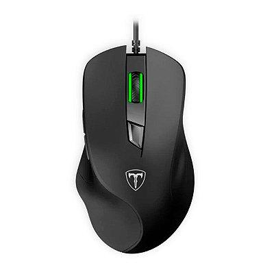Mouse Gamer T-Dagger Solid Detective 6 Botões USB Preto