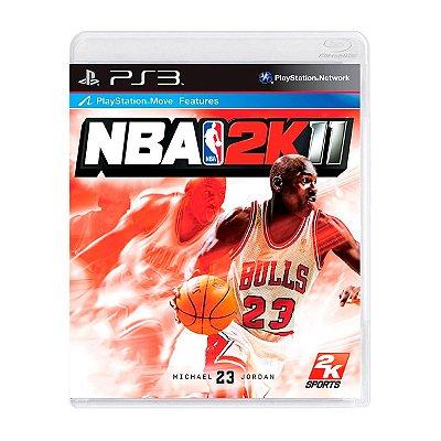 Jogo NBA 2K11 - PS3 Seminovo
