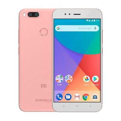 Smartphone Xiaomi Mi A1 Dual Rosa 64GB 4G 4GB Seminovo