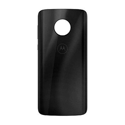 Pç Motorola Tampa Traseira G6 Preto