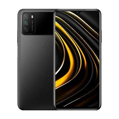 Smartphone Poco M3 128GB 4GB Preto Seminovo