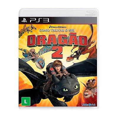 Jogo Como Treinar o Seu Dragão 2 - PS3  Seminovo