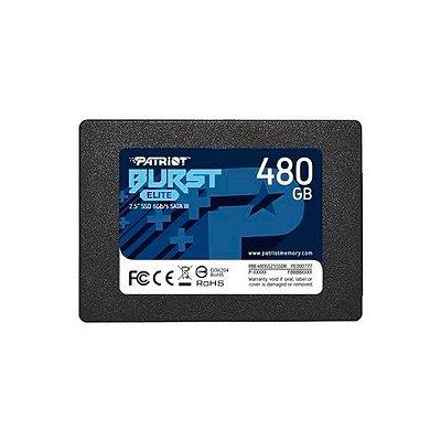 "HD Interno SSD 480GB Patriot Burst Elite 2.5"""
