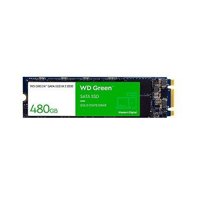 HD Interno SSD M.2 480GB WD Green 2280