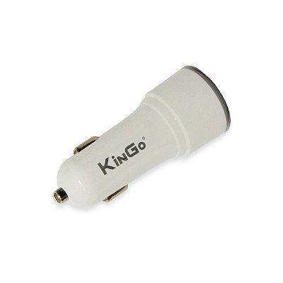 Fonte Veicular Kingo C202 Dual 2.4A