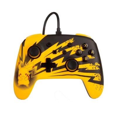 Controle Power A Wired Wired Pikachu Lightning - Switch