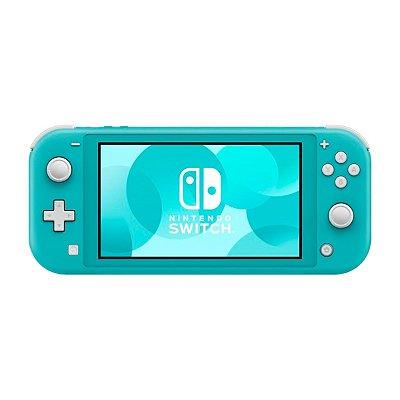 Console Nintendo Switch Lite 32GB Turquesa + Animal Crossing