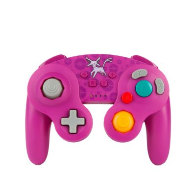 Controle Enhanced Wireless Controller GameCube Style Espeon - Switch